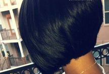 It's a hair thing / Healthy hair long or short / by Kymie