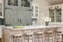 Stylish Kitchens.... / A Collection Of Inspirational Pins From Around The Web.....