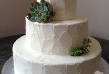 Wedding Texture Designs / Texture buttercream icing is one of our favorite designs !  Take a look at the wide range of possibilities below. Serving information is for all tiers.  When saving the top tier, reduce serving info by 10. / by Freedom Bakery & Confections