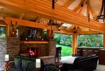 Outdoor Mancave - Portico / Outdoor living space also known as a Portico