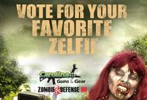 2014 Zelfie Contest / ZOMBIES ARE COMING!!! Zombies are coming to My40! In honor of the best television drama, The Walking Dead, starting on WMYA on October 1st, we want you to unleash your inner zombie!  Winner gets 2 tickets to the Big Zombie Tour & a stay at the W Hotel in downtown Atlanta! Sponsored by Carolina Guns & Gear of Asheville / by WLOS News 13