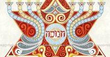 Jewish Artwork / Featuring the work of Hebrew Illuminations artist Adam Rhine and other inspiring artists.