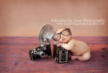 Fotos de bebé / Ideas geniales para fotografiar a los recién nacidos.