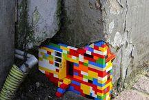 Street art / Art seen on streets.