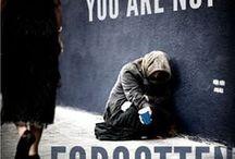 | You matter #helphomeless | / No one doesn't belong on the street. Everyone deserves a home.