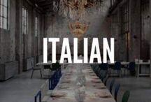 "Italian interiors & design. ITALIANBARK / A selection of Italian interiors and design products, new brands and news, also featured on ITALIANBARK - interior design blog - in the ""Mondays Made in Italy"" coloumn"