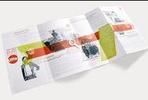 Plaquette commerciale / Création de plaquette commerciale
