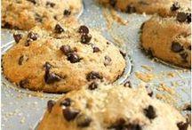 Gesunde Backrezepte / Kuchen, Muffins und Co müssen nicht immer voller Zucker, Weißmehl und viel Fett stecken! Inspirationen für gesünderen Genuss von glutenfrei bis low carb gibt´s auf diesem Board