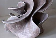 Keramiek / Klei /ceramic / Ideeën om eens zelf aan de slag te gaan, maar dan in klei/keramiek / by Danielle Loos-Bouwman