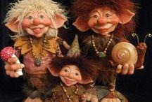 Trolls, Gnomes