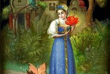Fedoskino painting , lacquer miniature...