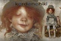 KARDENCHIKI - dolls by Karina Burkatskaya & Denis Shmatov /  (St.Petersburg,Russia)