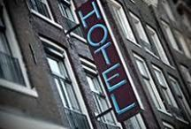 NEON HOTEL SIGNS