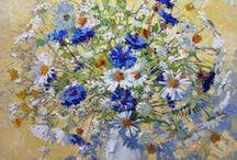 Wildflowers-painting