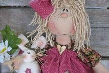 Waldorfs,Tilda & and textiles dolls