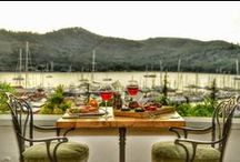 Unique Restaurant / Beautifully terrace restaurant with fantastic food. Views across Fethiye Ece Marina. The views from the restaurant situated right on the harbour are amazing, sitting watching the boats with the sun going down while eating a lovely meal.