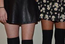 Skirts . / Leggs (: / by Destiny Christine