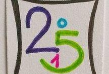 My Inchie-Challenge 2015 / Jeden Tag ein Inchie - eine Mutter-Tochter-Challenge