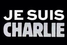 Je suis CHARLIE / #JeSuisCharlie Hommage aux dessinateurs assassinés le 07 janvier 2015 à Paris. Dessins de journalistes, caricaturistes et artistes connus ou anonymes en hommage à leurs confrères assassinés : cabu, tignous, wolinski, charb.