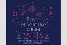 Idées carte de voeux / Carte de vœux papier traditionnel ou numérique : souhaitez une bonne année de façon original à vos clients
