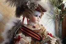 Elena Poluchankina -  clothes for dolls / Elena Poluchankina - collector and creator of antique clothes for dolls -  ( Astrakhan )