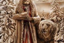 Russian mythology - Oziganov Igor