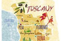 Toscana. ITALIANBARK / Toscana travel inspirations