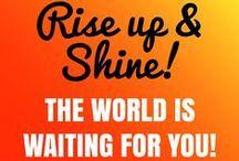 Shine! quotes / Inspiring quotes that make you Shine! www.yourdailyshine.nl