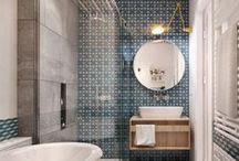 Bathroom ideas / Идеи и интерьеры ванной комнаты. Ванная комната – это то место, где начинается ваш день. Она создает настроение этого дня, она же и помогает расслабиться вечером. Поэтому, несмотря на то, что это не самое большое помещение в доме, функционально оно одно из самых важных.