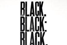 Must have            B L A C K / Monocromaticamente nero ⚫️