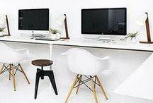 Кабинет  |  Office work area |  Cabinet / Интерьеры, детали кабинета и рабочей зоны в квартире.