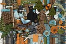 Scrapbooking Kits / Digital Scrapbooking Kits that are available at various sites - some favourites...