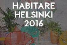 Habitare2016 Helsinki. ITALIANBARK / Trends, colours and design news from the leading Finnish fair of design and decor Habitare