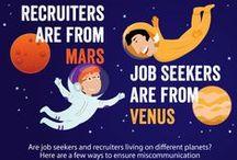 Recruitment Tips / Personal Branding, Ereputation, Recrutement, Selection de CV-graphics +1