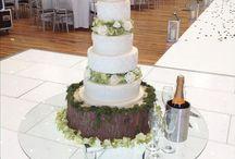 Wedding Cakes / Contemporary, Retro, Modern and Bespoke wedding cakes