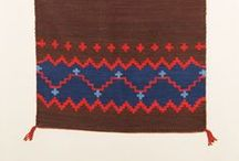 Navajo Weaving Examples / Examples of Navajo weaving for my tapestry classes to access.