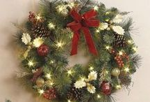 Christmas Wreaths / Christmas wreaths and winter time wreaths