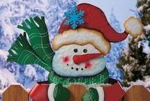 Snowmen Are My Favorite / Snowmen Christmas decorations, ornaments, and other winter snowmen ideas