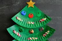 Christmas Crafts for Kids / Christmas crafts for kids of all ages.