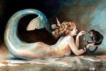 mermaids and sea sirens / by Steve Forrest