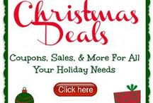 Christmas Shopping Deals & Tips / Christmas deals, sales, and buying tips for gifts, decor, and more.