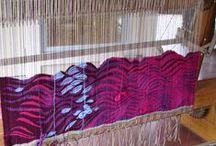 Fiber Artists in their studios / Fiber art takes so many forms! Images and videos of artists working in fiber.