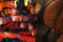 Spinning yarn / My new fiber obsession... Spinning (and not on a bike) maybe I will use the yarn for tapestry