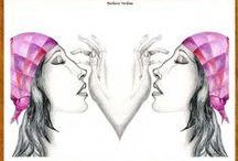 SORELLE / Dedicato a tutte le sorelle vere o per affinità elettive...oppure pensando al nostro doppio essere,come specchio di noi...A