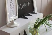 black & white home decor -inspirations