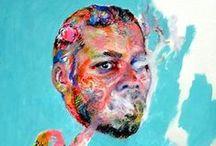 autorretrato/self portrait / Coleção de autorretratos de artistas visuais.