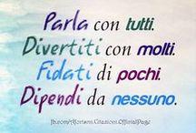 ITALIANO !!! FRASES, CITAÇÕES & TEXTOS.