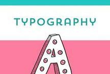 Typography / Eine gute Typography sagt manchmal mehr als 1000 Fotos. ;) Und macht manchmal sogar doppelt so viel Spaß! Typo lässt sich übrigens auch super illustrieren, nennt sich dann Lettering. Lass dich inspirieren!