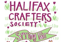 Halifax Crafters Posters / A new poster by a different artist every show and it's always amazing.