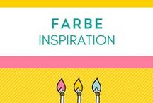 Farbpaletten / In love with color.